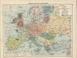 Harta etnică a Europei